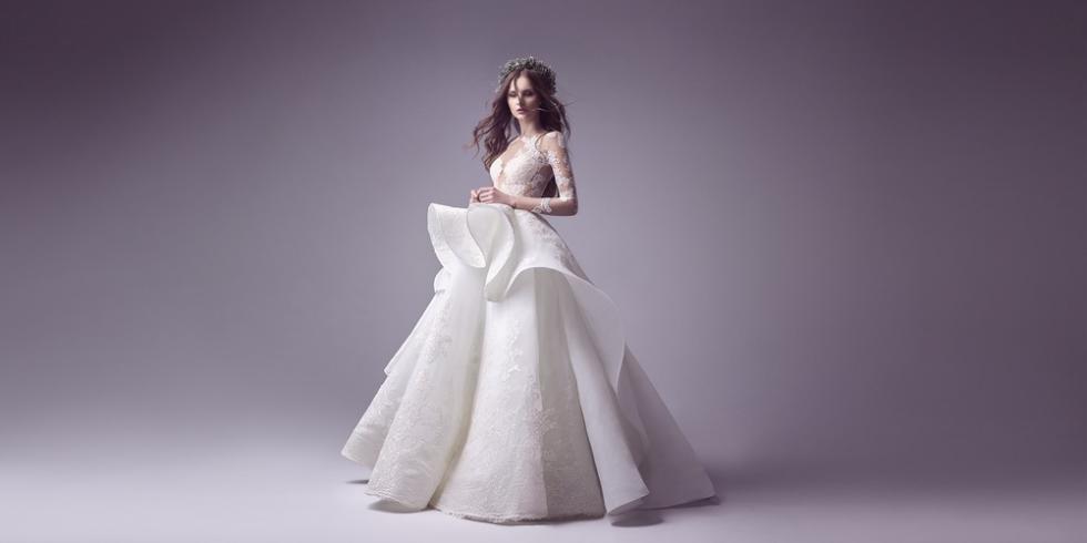 Váy cưới mùa đông đẹp mê hoặc của Allure