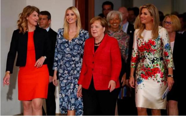 Ivanka Trump dự W20 cùng những người phụ nữ quyền lực trên thế giới