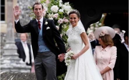đám cưới Pippa Middleton