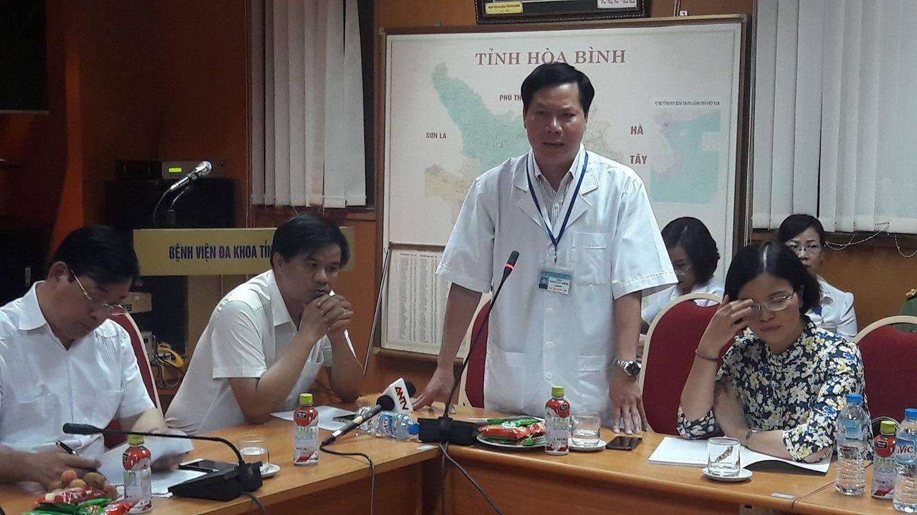 Thông tin ban đầu về vụ 6 bệnh nhân tử vong tại BVĐK tỉnh Hòa Bình