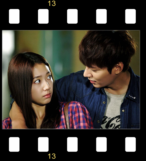 Park Shin Hye trong phim Người Thừa Kế