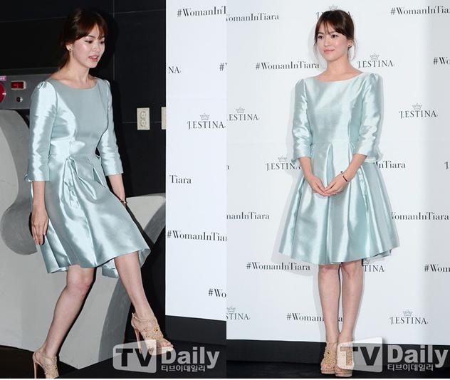 váy xanh ngọc