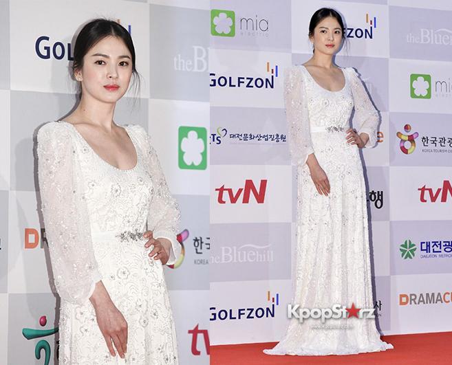 Song Hye Kyo diện váy dạ tiệc