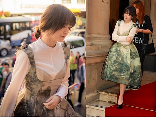 Phong cách trẻ trung đầy sức sống từ Goo Hye Soon