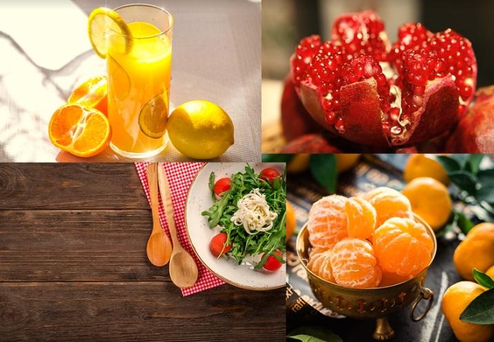rau hoa quả cải thiện tâm trạng