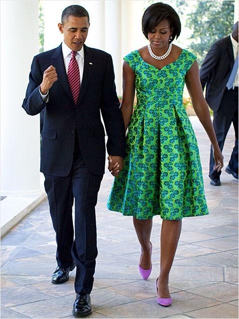 Cặp đôi hạnh phúc Barack & Michelle Obama