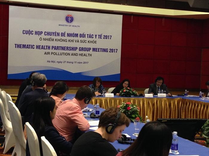 HPG Ô nhiễm không khí và sức khỏe