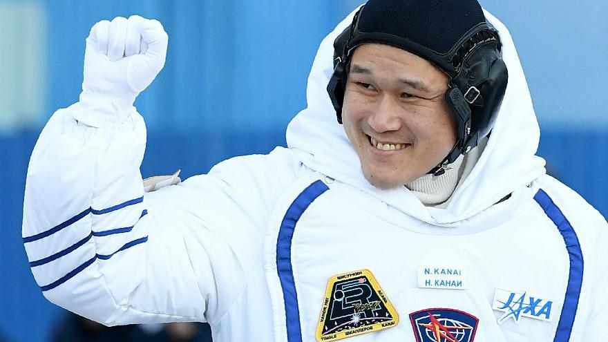 Norishige Kanai cao thêm 9cm sau 3 tuần trên vũ trụ