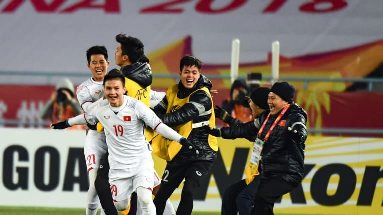 U23 Việt Nam lọt vào chung kết AFC U23 Championship 2018 sau thắng lợi trước U23 Qatar
