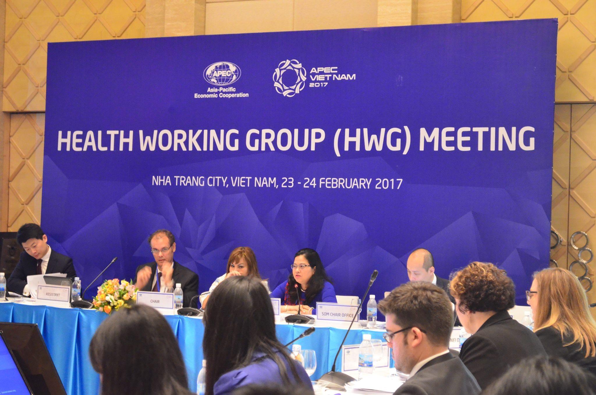 Cuộc họp Nhóm làm việc về y tế (HWG-APEC)