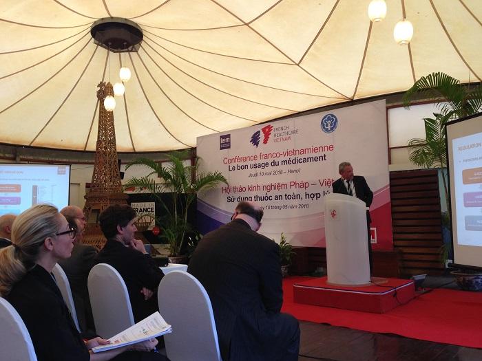 BS. Eric Baseilhac nêu tiềm năng của các loại thuốc mới trong điều trị bệnh giúp nâng cao sức khỏe người dân và tiết kiệm chi phí BHYT