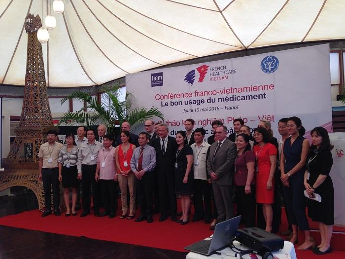 Các chuyên gia đầu ngành Pháp-Việt tại Hội thảo