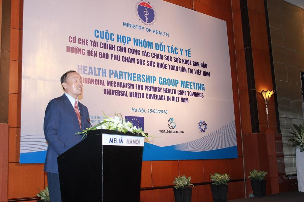 TS. Kidong Park, Trưởng Đại diện WHO tại Việt Nam