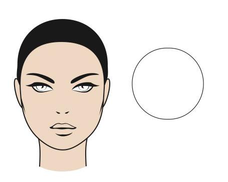 gương mặt tròn