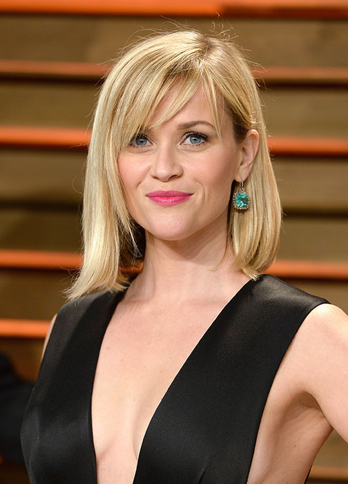 Reese Witherspoon có gương mặt hình trái tim