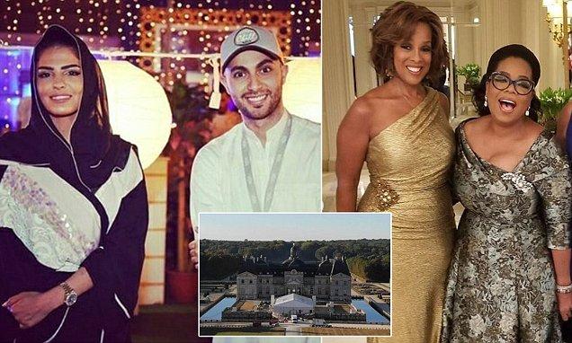 Đám cưới xa hoa của công chúa Ameera với tỷ phú Saudi với nhiều khách mời nổi tiếng