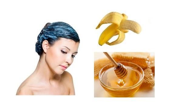 Ủ tóc mỗi tuần 1 lần với mật ong, chuối, nước hoa hồng và sữa chua sẽ cho bạn suối tóc trong mơ