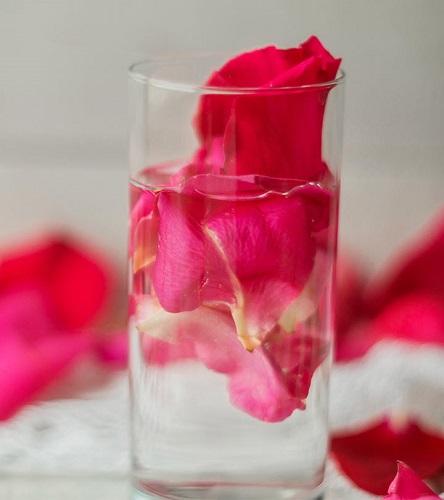 nước hoa hồng dưỡng tóc