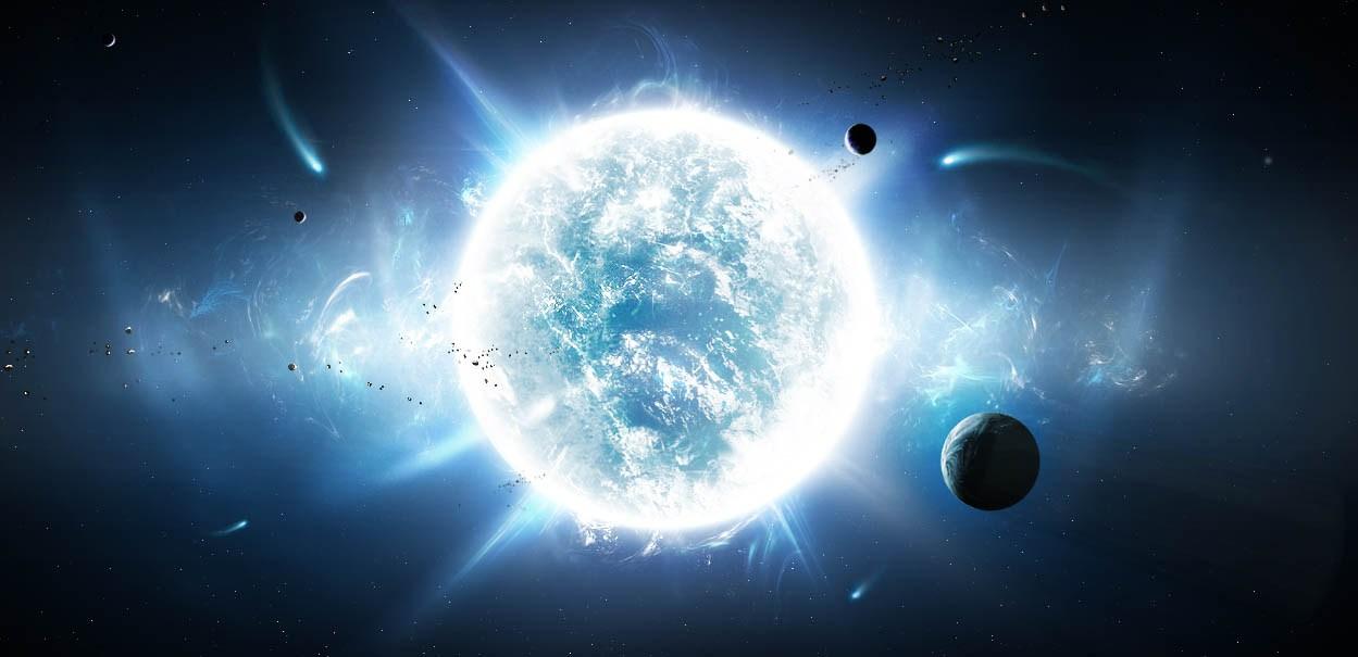 Sirius, ngôi sao sáng nhất trong dải ngân hà Milky Galaxy của chúng ta