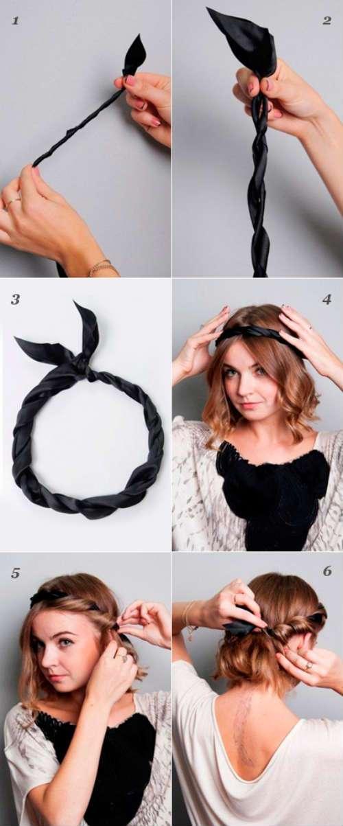 Các bước hướng dẫn vấn tóc kiểu Hy Lạp