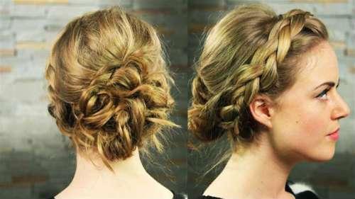 vấn tóc kiểu Hy Lạp