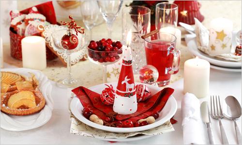 trang trí bàn tiệc đêm Giáng sinh lãng mạn và đẹp mắt 1