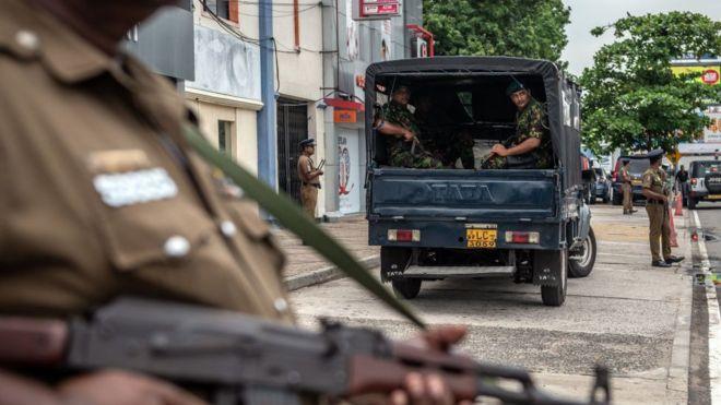 Sri Lanka cảnh giác cao độ sau một loạt vụ đánh bom kinh hoàng hôm Chủ Nhật