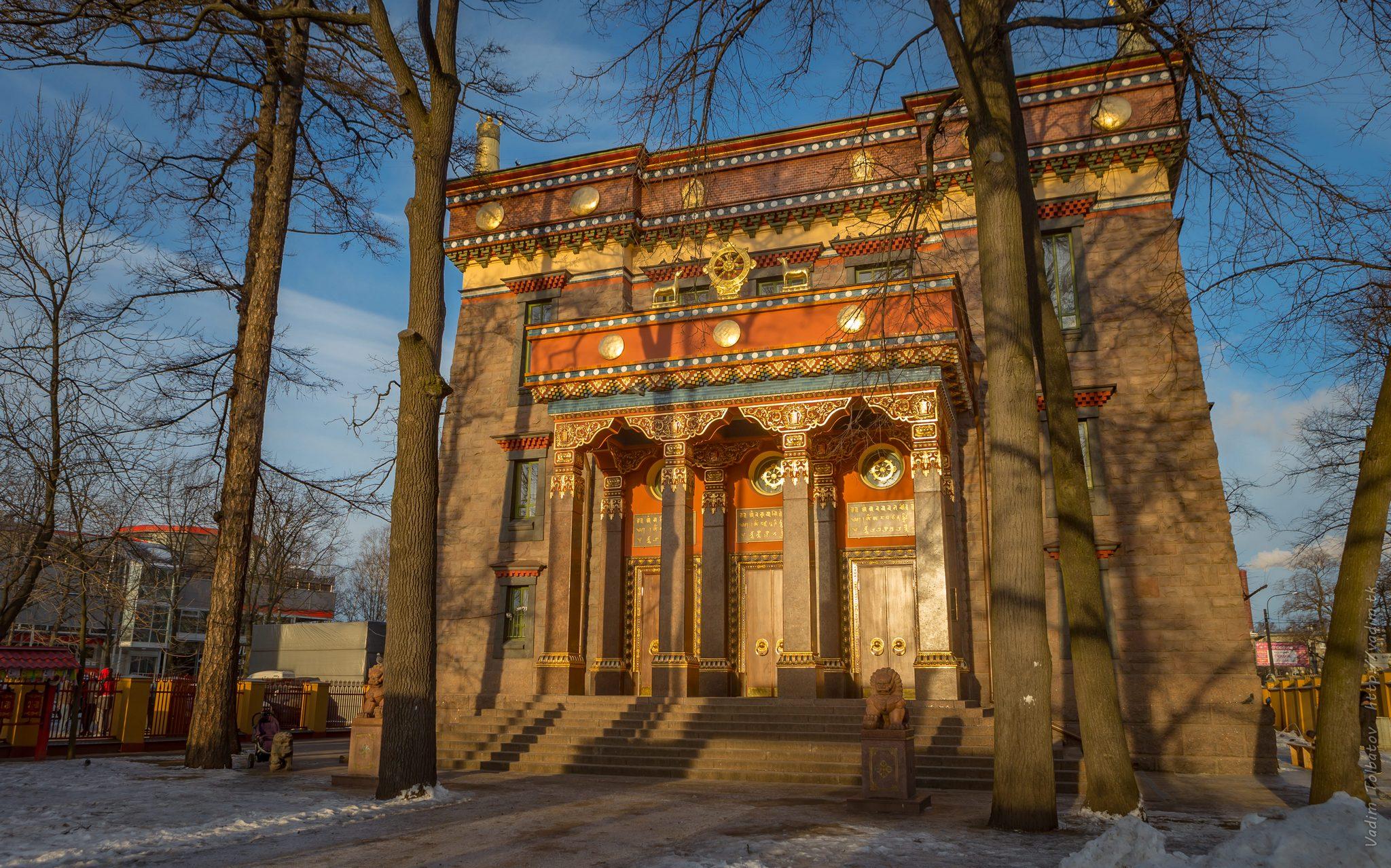Top 20 ngôi chùa Phật giáo đẹp nhất thế giới_Chùa Datsan Gunzechoinei ở Nga