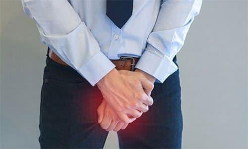Đau tinh hoàn có thể là dấu hiệu của nhiều bệnh lý. Ảnh minh họa