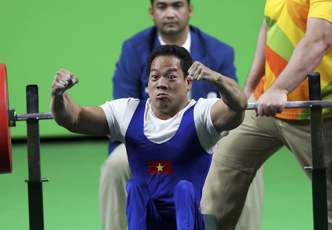 Paralympic, luc si Le Van Cong