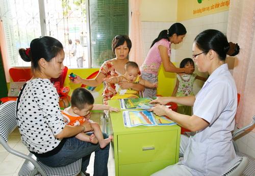 Tư vấn dinh dưỡng cho trẻ biếng ăn.