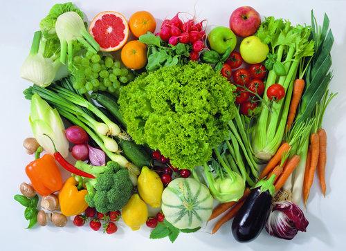Thực phẩm giàu chất xơ giúp làm sạch đại tràng.