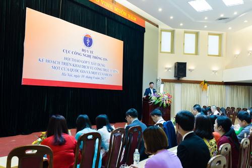 Cục CNTT đã chủ trì nhiều buổi hội thảo đưa CNTT phát triển mạnh mẽ trong thực tiễn.