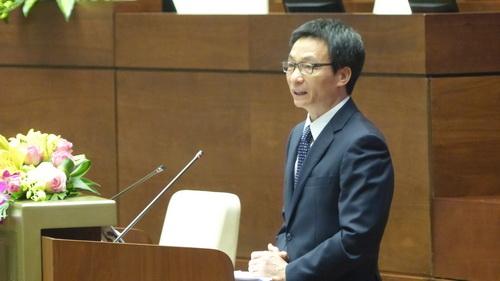Phó Thủ tướng đánh giá cao công tác cải cách thủ tục hành chính của ngành y tế. Ảnh: CTV