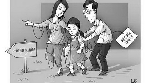Cần đưa trẻ đi khám nếu có các biểu hiện tâm lý nặng.
