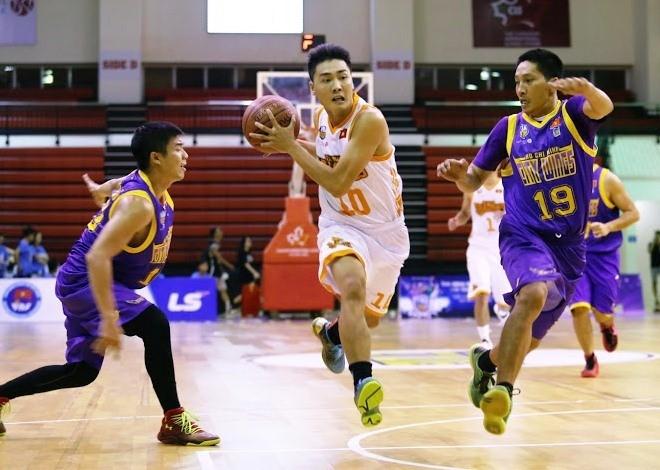 Giải bóng rổ chuyên nghiệp Việt Nam 2017 rất hấp dẫn và cuốn hút.