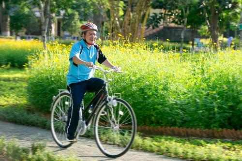 Gần đây thì tôi lại quay lại với xe đạp (NT Văn Công Hùng).