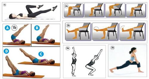 động tác phòng suy giãn tĩnh mạch