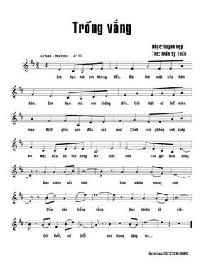 Hồn thơ là đôi cánh cho âm nhạc bay cao. Nhiều ca khúc của Quỳnh Hợp được yêu thích cũng bởi sự đồng hành này. Thơ và Nhạc. Trong thơ có nhịp điệu riêng và tạo nguồn cảm hứng cho nhạc sĩ.
