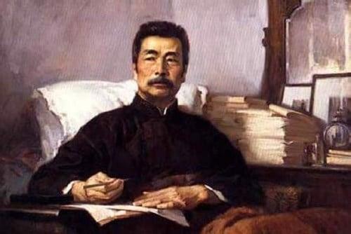 Nhà văn Lỗ Tấn (1881-1926).
