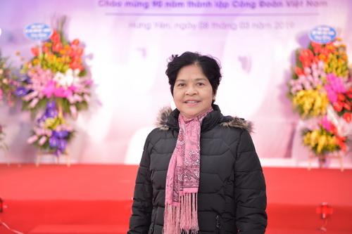 Anh hùng Lao động Trịnh Thị Toan.