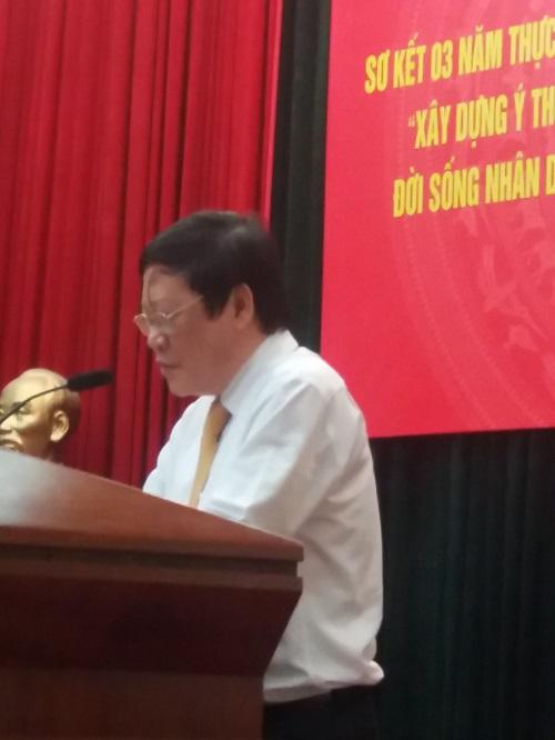 Nguyễn Viết Tiến - Thứ trưởng thường trực Bộ Y tế phát biểu khai mạc Hội nghị.