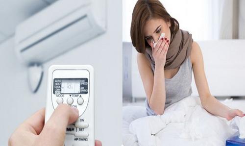 Khi chạy máy lạnh, đóng kín cửa nên dễ thiếu dưỡng khí là nguy cơ gây nên các bệnh lý hô hấp.
