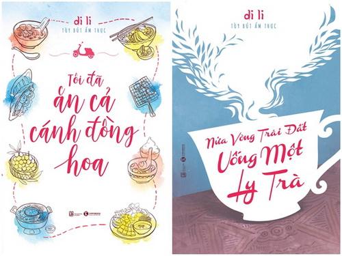 Bộ đôi sách ẩm thực của Di Li vừa ra mắt độc giả.