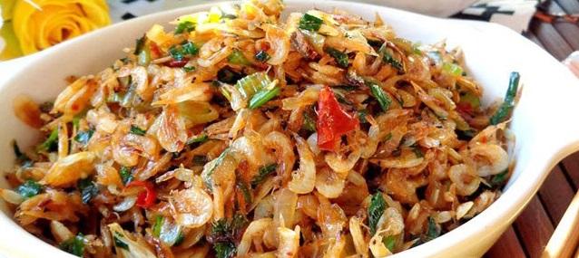 Trong các loại thực phẩm, tôm tép khô chứa hàm lượng canxi rất cao.