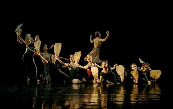 Cảnh trong vở ballet Kiều.