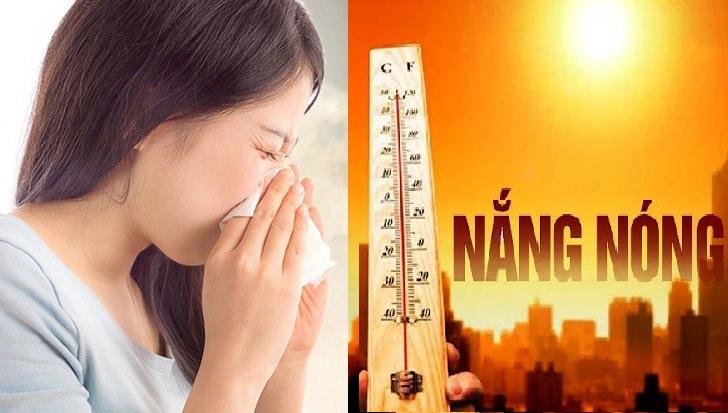 Mùa hè nắng nóng, bụi bẩn, khói bụi từ xe cộ... là nguyên nhân gây viêm mũi xoang.