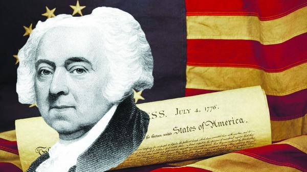 Tổng thống John Adams.