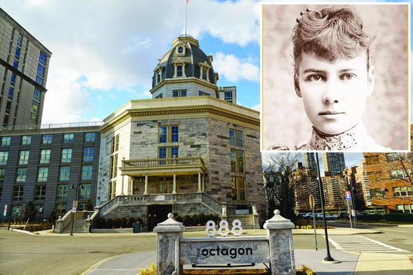 Nhà báo Nellie Bly và trại thương điên Lunatic nơi bà từng thâm nhập viết bài.