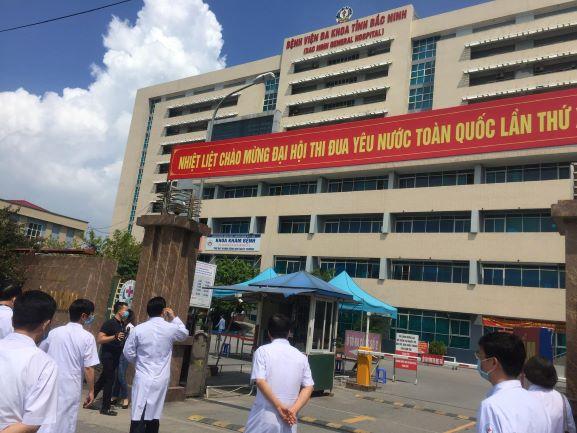Đoàn kiểm tra số 1 Bộ Y tế kiểm tra công tác phòng chống dịch bệnh tại BVĐK tỉnh Bắc Ninh